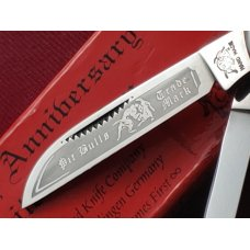 "Bulldog Brand Knives, 3-7/8"" 4 blade Congress, Smooth Bone, 25th Anniversary 2004, Solingen Germany"