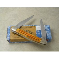 Case XX USA 3 Dot Muskrat SS Harvest Orange Muskrat Knife in Box