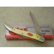 Case XX USA 1994 Smooth Bone BW10098 SS Collector's Club Large Toothpick Knife in Box