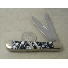 Case XX USA  Pearl Inlay 4-Dot EX254 SS  Trapper Knife
