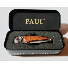 LONE WOLF USA PAUL PERFECTO FOLDING POCKET KNIFE