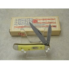 Case XX USA 2 Dot Yellow 3220 SS Peanut Knife NIB