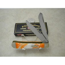Case XX USA 2 Dot 9254 Orange Corelon Trapper Knife in Box