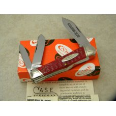 Case XX Bradford PA USA 1995 Tested Red Bone 63046 Whittler Knife NIB