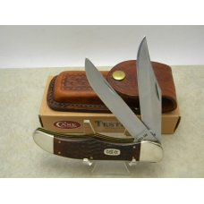 Case XX Stainless USA 1995 Wood 6265 SAB Folding Hunter Knife NIB