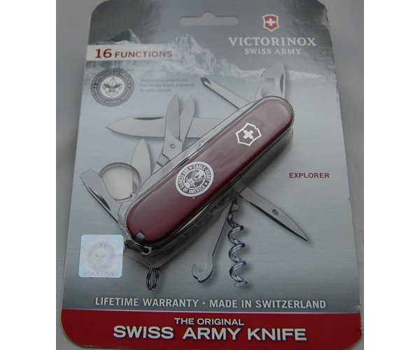 Victorinox In Mint Condition With Red Plastic Covers 3 1/2