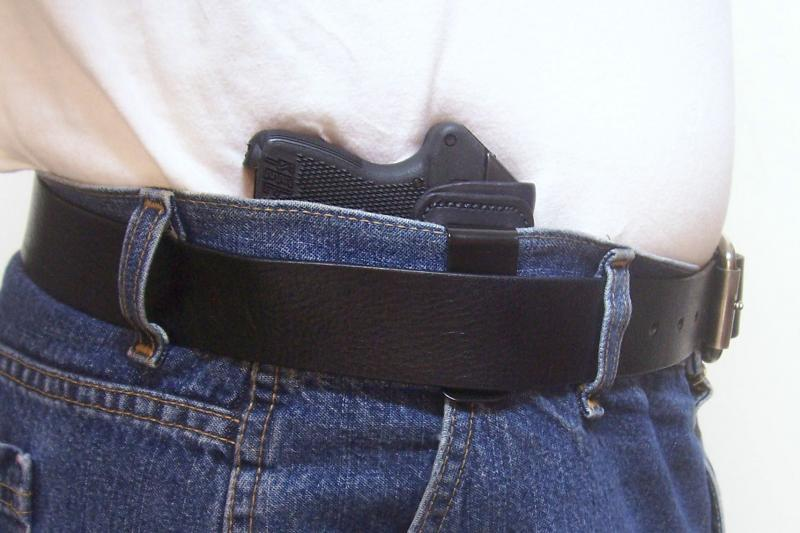 Leather Holster - (IWB) - Taurus TCP,Keltec P3AT,Ruger LCP,& Sig