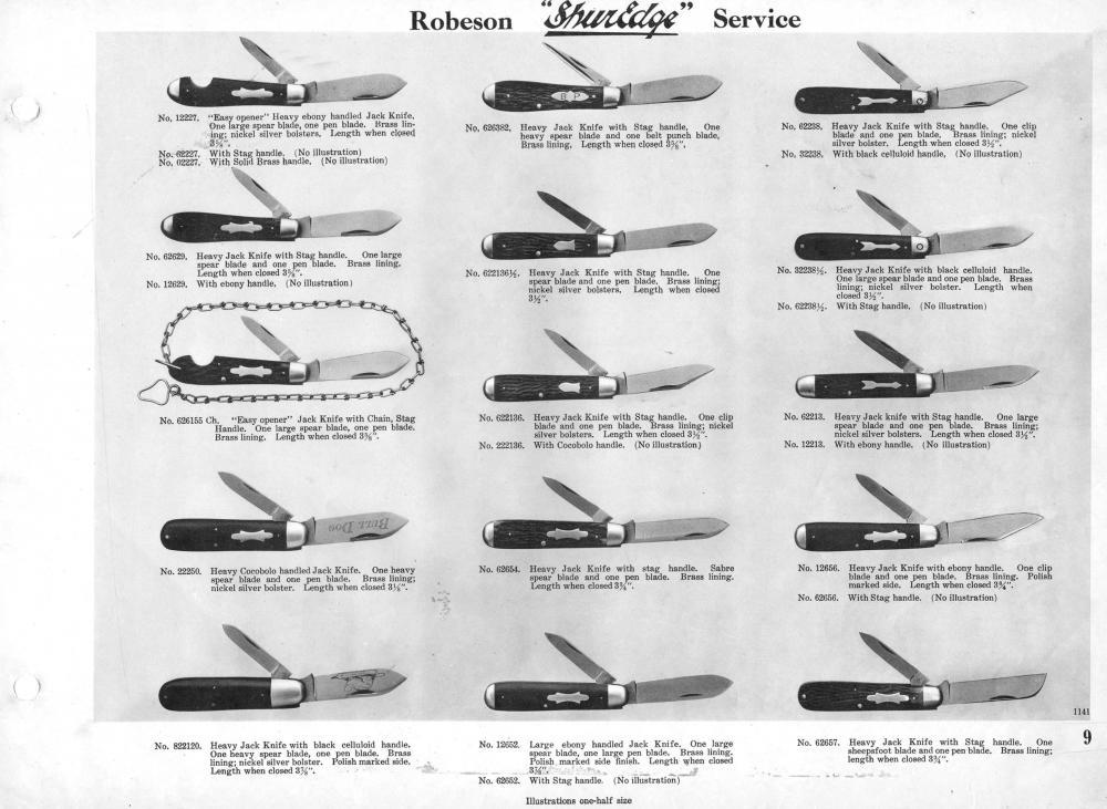 robeson knife dating Straight razors like most american m f robeson on the tang these date from about 1891 to 1894 these little booklets turn up often at knife shows and on.