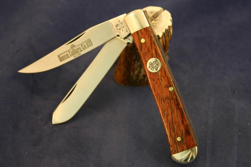 Queen Cutlery 19 Cz Premium Trapper Pocket Knife 10