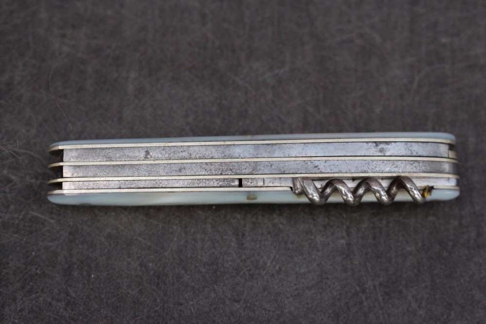 Rare Antique 1909 Victorinox Victoria Swiss Army Knife Sak