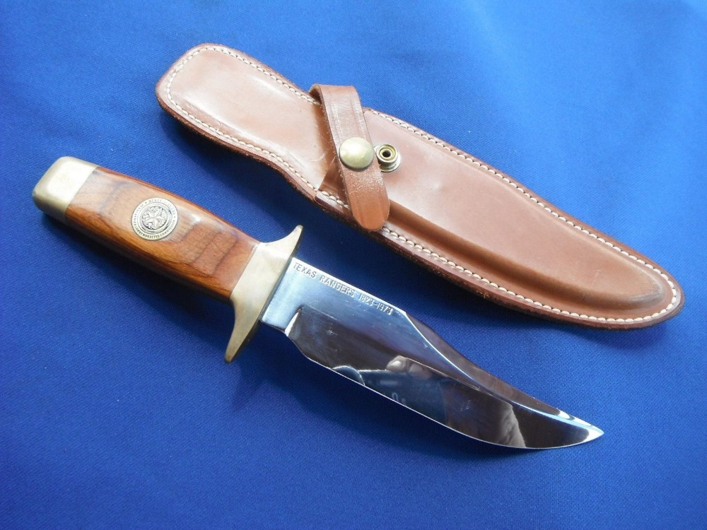 1973 Smith & Wesson 1st Texas Ranger Commemorative Bowie