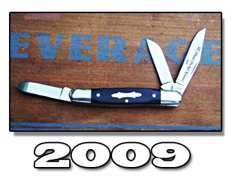 2009 AAPK CSC Series Limited Edition Stockman Knife