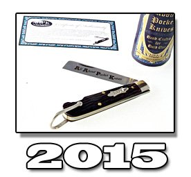 2015 AAPK GEC brown jigged bone Rope / Sailer's Knife
