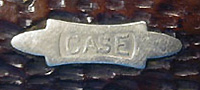 Case XX bowtie shield 1915 - 1925