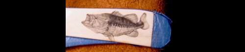 Largemouth Bass Scrimshaw Project - Image 10