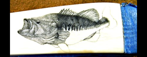 Scrimshaw - Colin Paterson - Largemouth Bass - Image 9