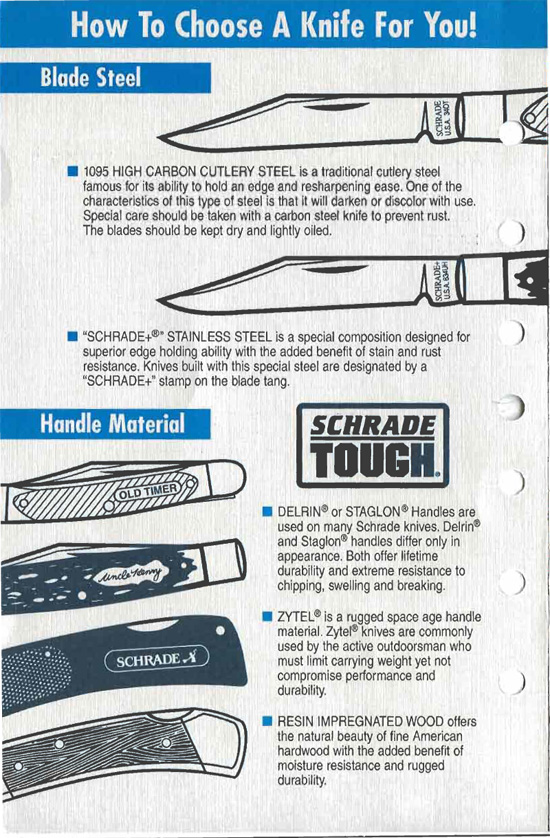 Schrade Knife Bill Of Rights Page 2