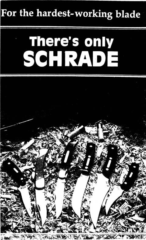 Schrade Handbook - Back Cover