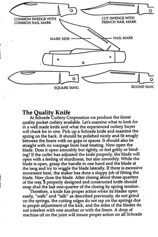 Quality Schrade Pocket Knives