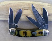 Bulldog Brand 5 Blade Serpentine Sowbelly Knife