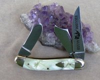 Bulldog Brand Cracked Ice Scimitar Sowbelly Knife