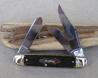 Bulldog Brand Cattle King Equal End Stockman Knife