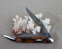 Bulldog Brand Palmetto Cutlery Club Toothpick Knife