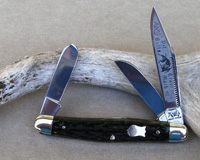 Bulldog Brand Prototype Greenbone Stockman Knife