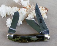 Bulldog Brand Scimitar Sowbelly Stockman Knife