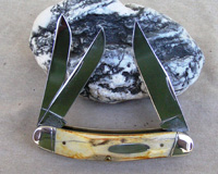 Bulldog Brand Stag Sowbelly Whittler Knife