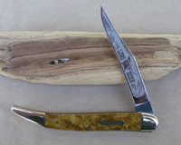 Bulldog Brand Gold Dust Celluloid Toothpick Knife