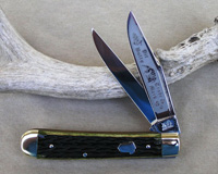 Bulldog Brand Prototype Greenbone Trapper Knife