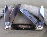 Bulldog Brand Prototype Stag Large Congress Knife