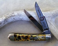 Bulldog Butter and Molasses Trapper Jack Knife
