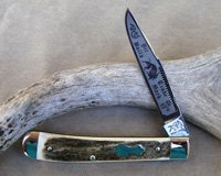 Bulldog Brand Single Blade Trapper Knife