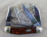 Bulldog Brand Sowbelly TOBACCO SERIES Knife