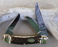 Bulldog Brand Tobacco King Sowbelly Stock Knife