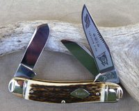 Bulldog Brand Ohio Tobacco King Sowbelly Stock Knife