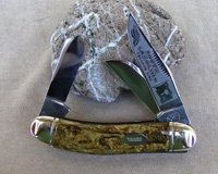 Bulldog Brand South Carolina Tobacco King Sowbelly Stock Knife