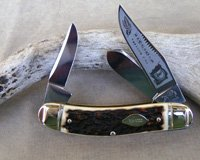 Bulldog Brand Virginia Tobacco King Sowbelly Stockman Knife