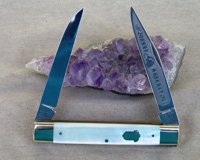 Bulldog Brand 1998 Pearl Johnny Muskrat Knife