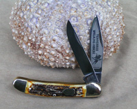 Bulldog Brand Tennessee Walking Horse Copperhead Knife