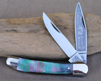 Bulldog Brand Black Lip Pearl Copperhead Knife