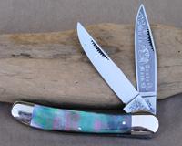 Bulldog Brand Black Lip Pearl Copperhead Knife