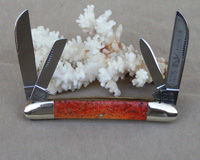 Bulldog Brand Apple Coral Congress Knife