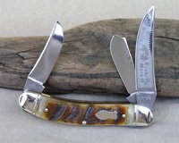 Bulldog Brand Prototype Sheephorn Cuttin' Horse Sowbelly Knife
