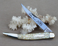 2005 Bulldog Brand Chip Abalone Trapper Knife