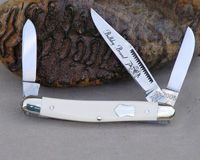 Bulldog Brand Mammoth Ivory Stockman Knife