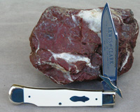 Bulldog Brand Lewis and Clark Swing Guard Lockback Knife