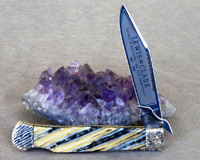 Bulldog Brand Customized Lewis and Clark Swing Guard Mammoth Tooth Knife